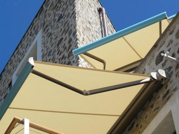 Sunshade awning patio roof wall aluminum