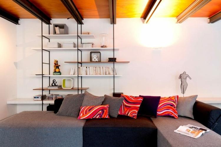 Tile-in-the-large-format-seat-shelf-metal-sofa-idea