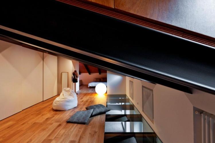 Tile-large-format-comfortable-interiors-slanting-seat-bag-lighting