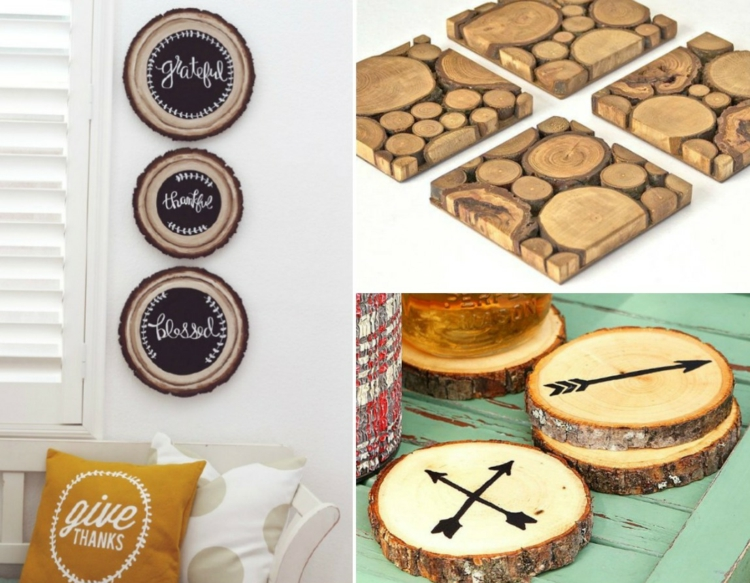 decoration wood disks winding decoration wood board color reductor make