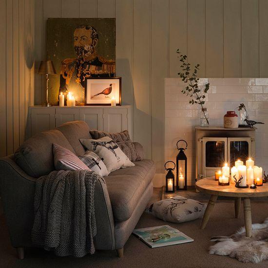 hygge home decorating idea