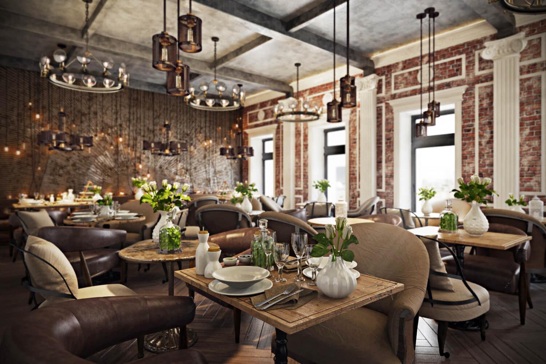 Stunning restaurant interior design the chic of original