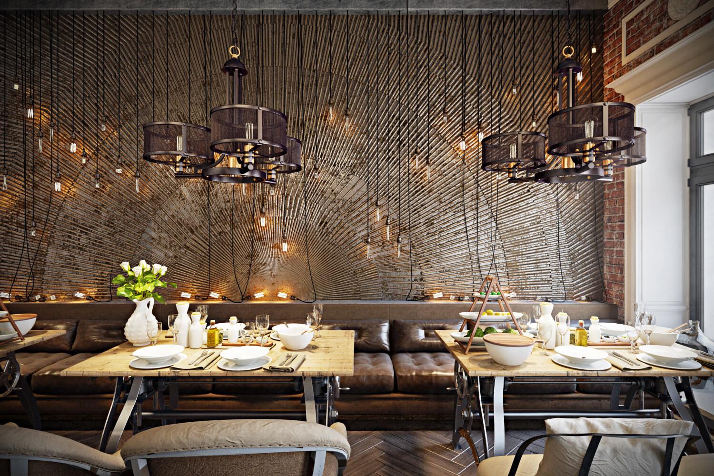 Stunning Restaurant Interior Design the Chic of Original ...