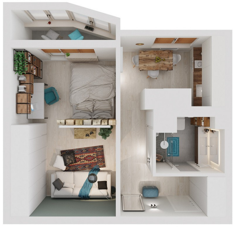 0-one-room-apartment-3D-scheme-visualization-render-layout-plan-with-furniture-balcony_cr