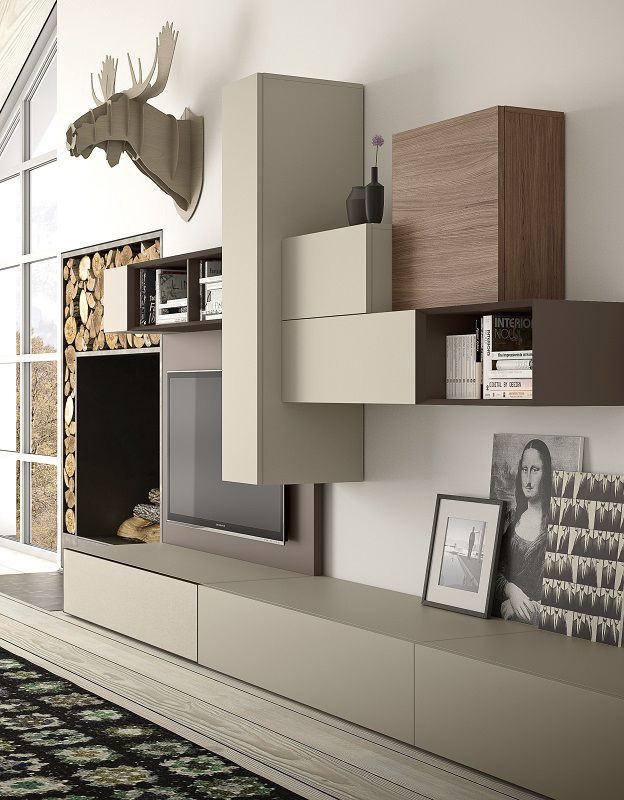Latest Tv Unit Design: New TV Wall Unit Models And Ideas
