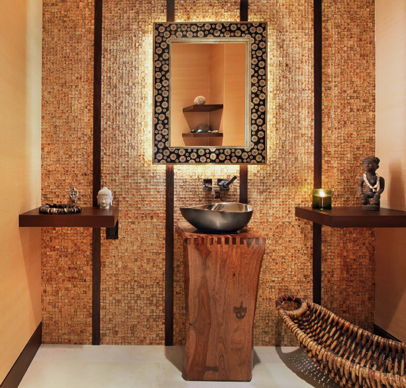 20 glorious bathrooms with wooden shelves decor10 blog - Oriental bathroom decor ...