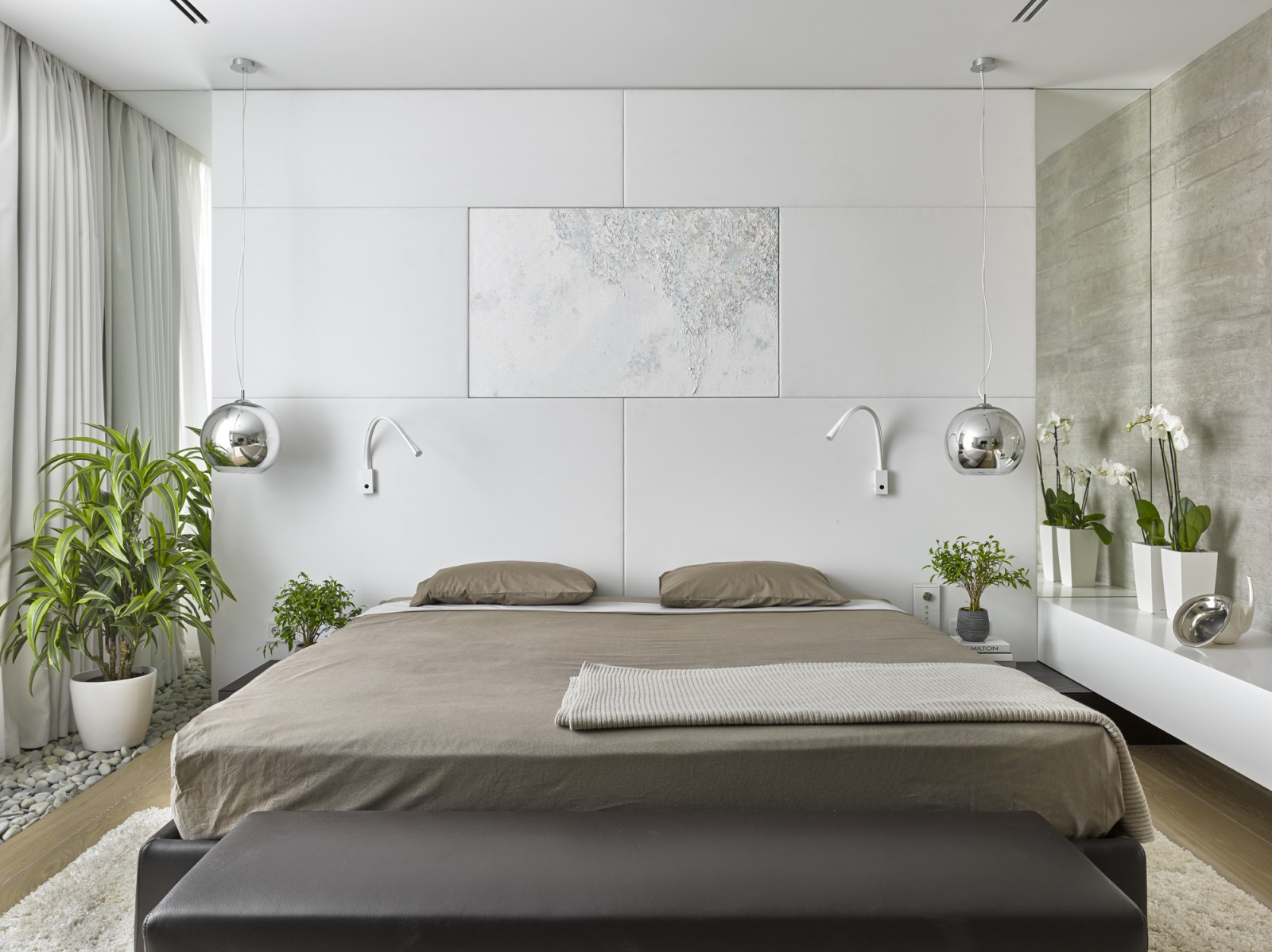 Modern bedroom from Alexandra Fedorova