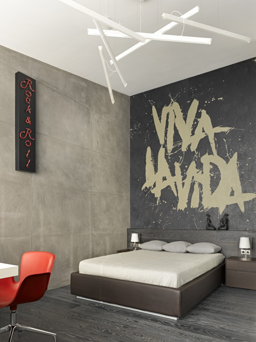 Small bedroom design by Alexandra Fedorova