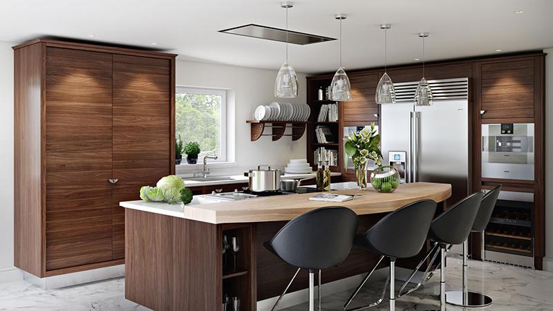 Kitchen 3d render for Sacramento project
