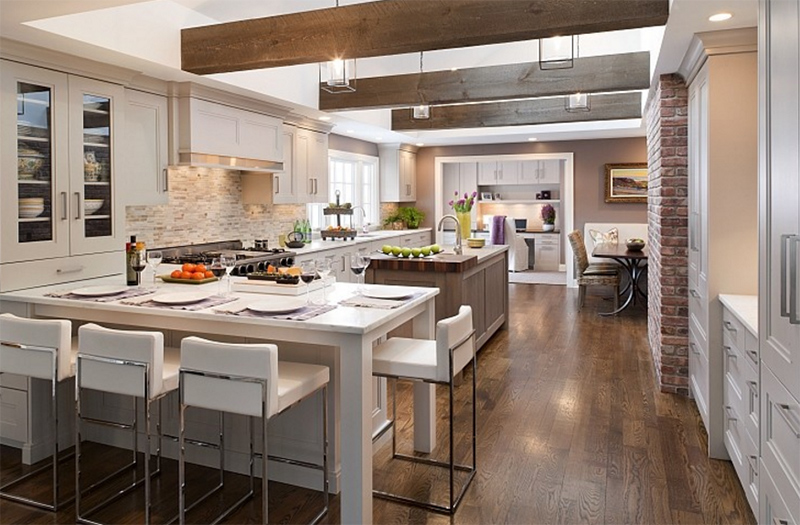 22 Appealing Rustic Modern Kitchen Design Ideas - Decor10 Blog
