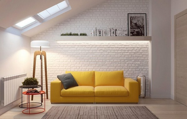 Creative Living Ideas With Yellow A Decorating