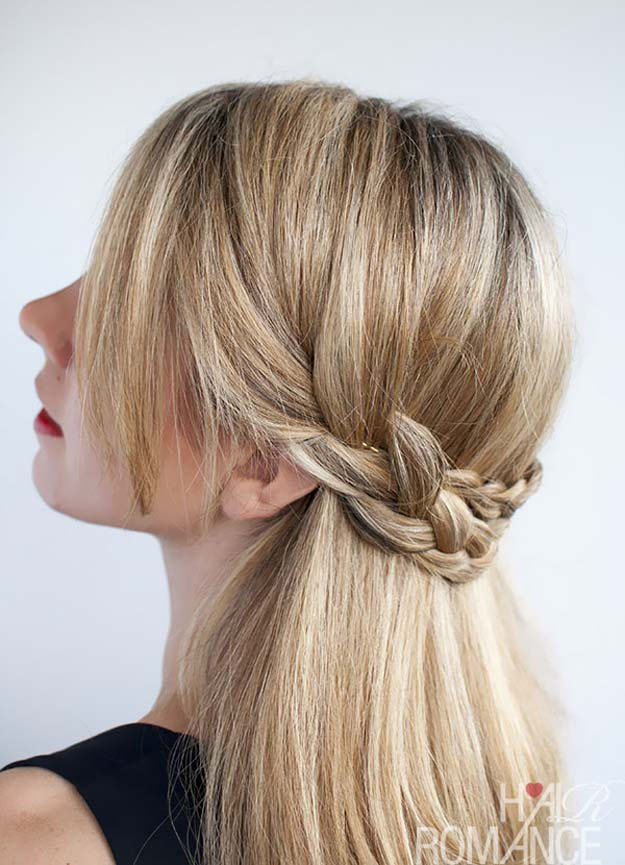 41 DIY Cool Easy Hairstyles That Real People Can Actually Do at Home! - Decor10 Blog