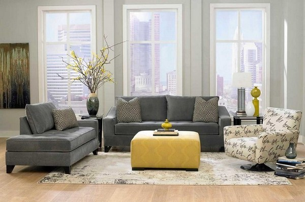 Living ideas with cool design yellow