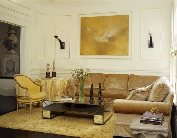 Living ideas with yellow A cool atmosphere