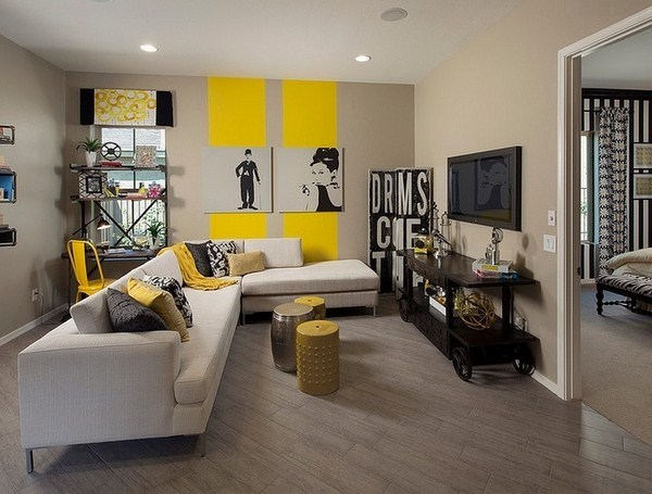 Living ideas with yellow eye-catching design 1