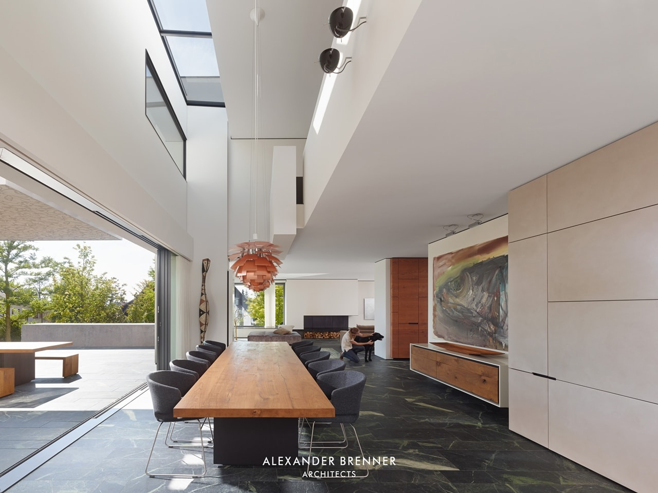 Modern Villa Design - Incredible SU House by Alexander Brenner featured on Architecture Beast 05