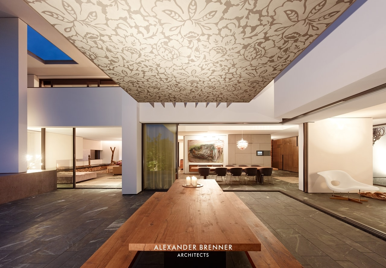Modern Villa Design - Incredible SU House by Alexander Brenner featured on Architecture Beast 08