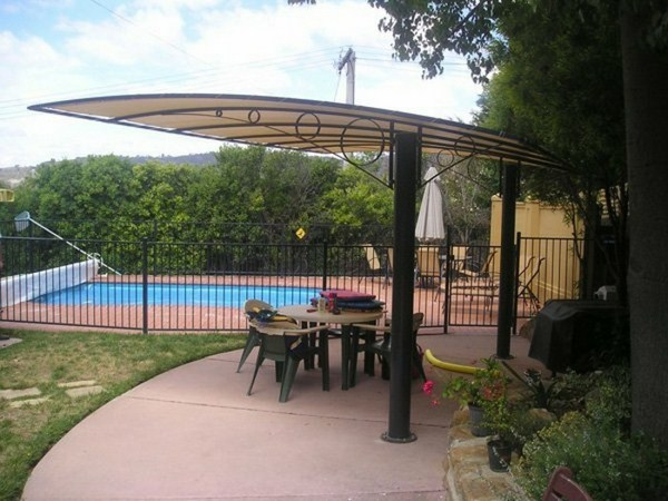 Modern pergolas canvas roof