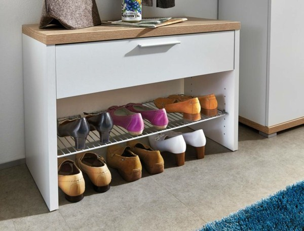 Shoe cabinet bench storage ideas for shoes corridor set 1