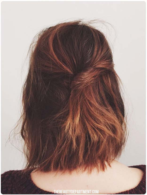 Cool and Easy DIY Hairstyles - Short Stack - Quick and Easy Ideas for Back to School Styles for Medium, Short and Long Hair - Fun Tips and Best Step by Step Tutorials for Teens, Prom, Weddings, Special Occasions and Work. Up dos, Braids, Top Knots and Buns, Super Summer Looks http://diyprojectsforteens.com/diy-cool-easy-hairstyles