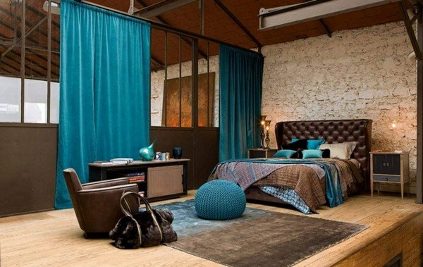 Wall color crate bed bedrooms ideas in berry color emphasize