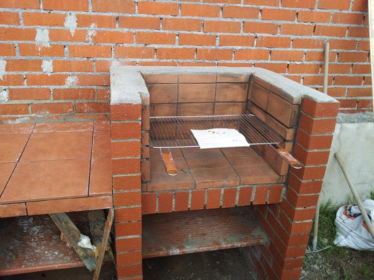 barbecue place garden build instruction brick clinker backyard