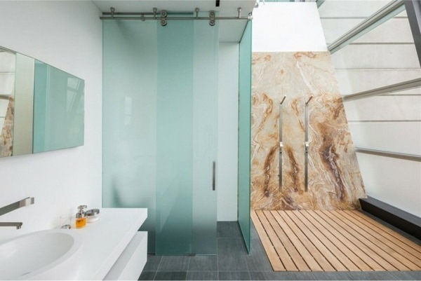 Genial Easy, Super Functional, Beautiful Looking. In This Article We Will  Concretely The Glass Wall Handle Shower, Because We Believe That This Is ...