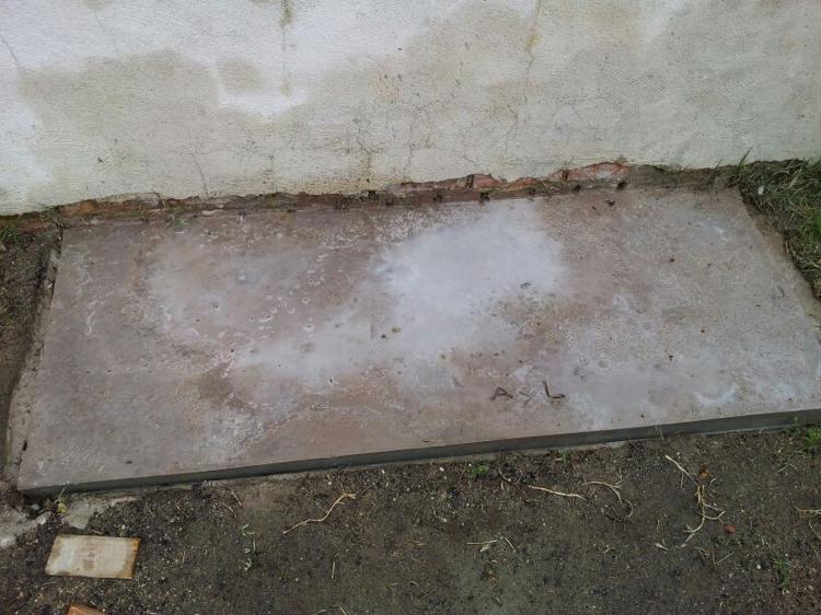 instruction builds grill place garden mortar foundation diy