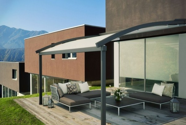 modern Pergola for terrace or garden