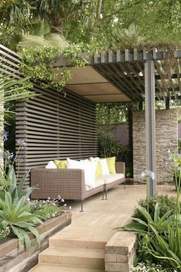 modern make pergola garden