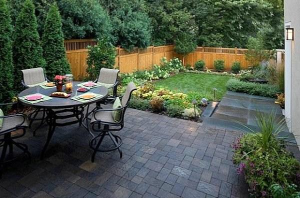 very nice design of small gardens