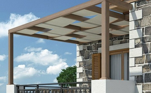 whitewood detached modern pergola