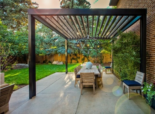 wood Pergola gardening and garden furniture