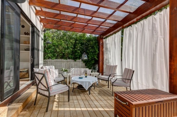 wood Pergola patio design