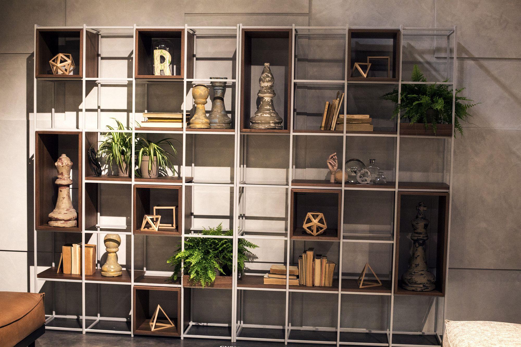 11 open wooden shelves bringing modularity and decorating. Black Bedroom Furniture Sets. Home Design Ideas