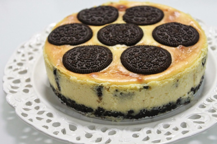 Oreo-cake-making-recipe-cheesecake-idea-delicious