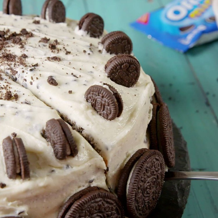 Oreo-cake-making-recipe-pie-homemade-delicious