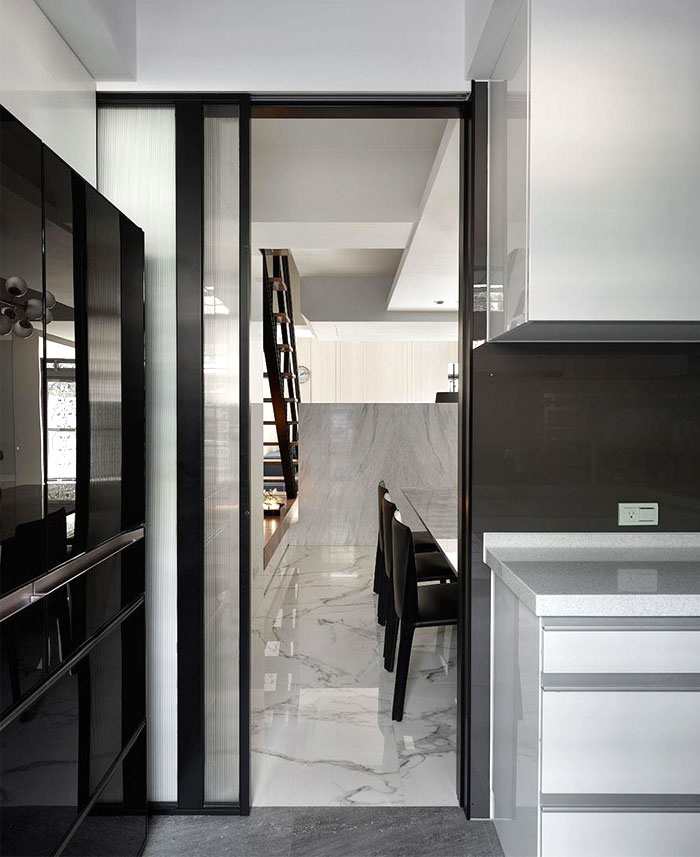 Contemporary two level apartment in taipei decor10 blog for International decor gates