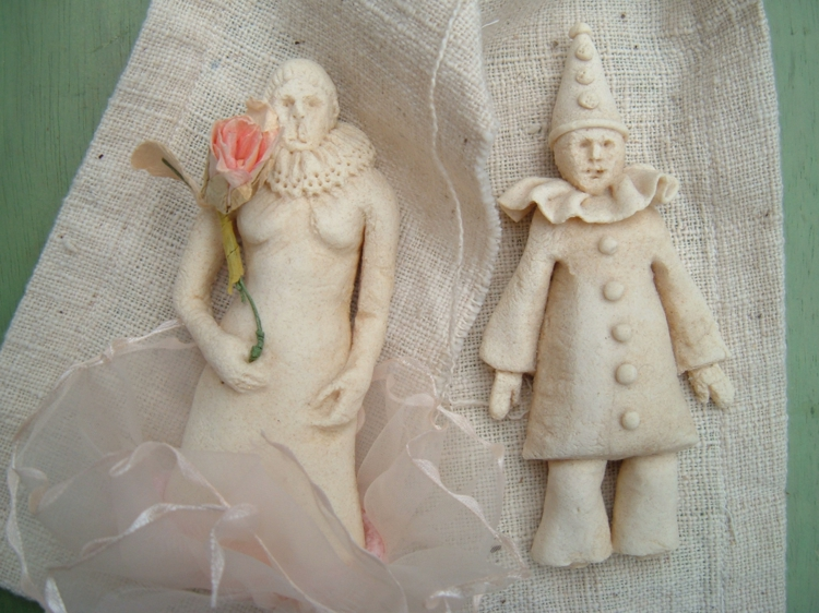 salt dough-ideas-figures-excitation-clown 3d model