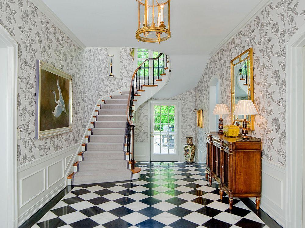 Ways Decorate The Entryway Floor Vases