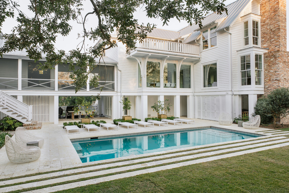 Dazzling Swimming Pools That Will Embellish Your Backyard ... on front exterior home designs, hangar home designs, back yard hillside waterfalls, double story home designs, back yard ideas with park benches, back yard dream homes, back yard ponds and streams, back yard renovation ideas,