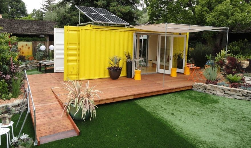 awesome shipping container home