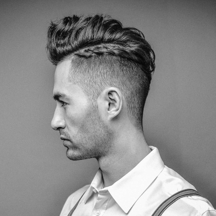 Undercut-men hair-hairstyles-strands-dryers