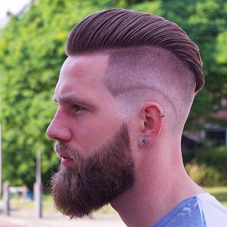 undercut men's hairstyles-double layer-bart