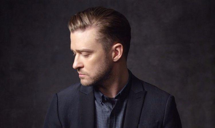 undercut men's hairstyles-justin-timberlake-elegant-face hairstyle
