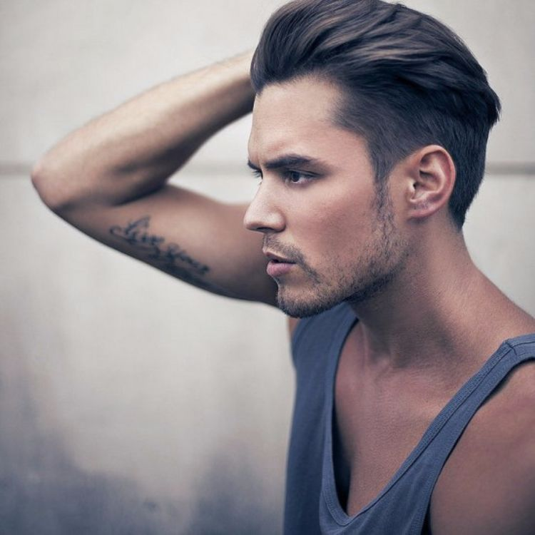 undercut men's hairstyles-without-transition