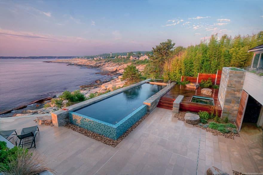 Awe inspiring above ground pools for your own backyard - Luxury above ground pools ...