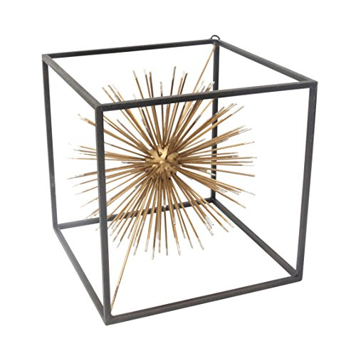 Sagebrook Home 12664-01 Metal Starburst Table Sculpture,...