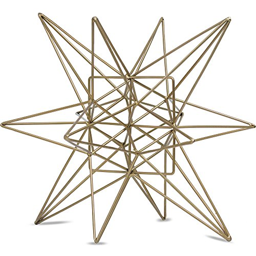 Millennium Art Metal Star Figurine Table Top Décor...