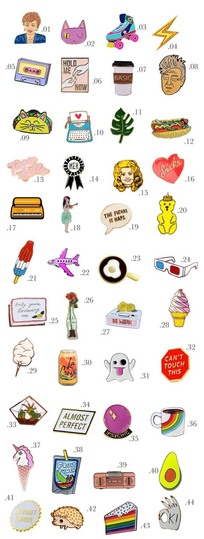 Enamel pin shopping guide part 2 decor10 blog for Apartment design guide part 2